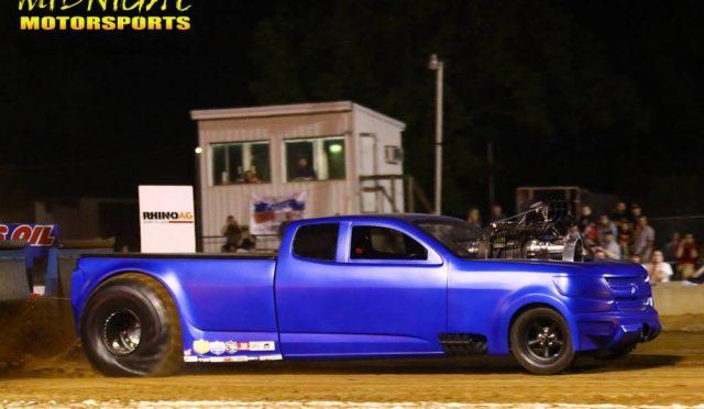 Nelson – blue truck